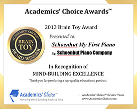 2013 Academic's Choice Brain Toy award