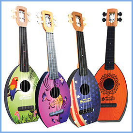 Award winning Ukeleles