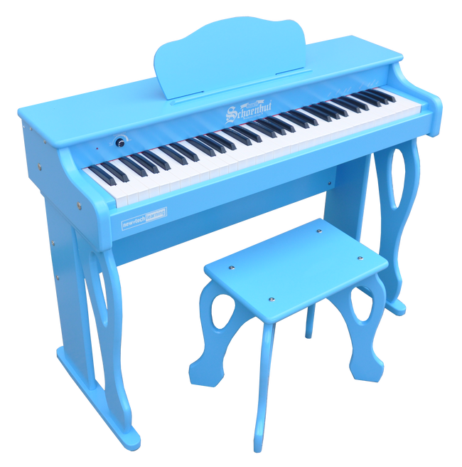 Schoenhut My First Piano Tutor 61-Key Blue