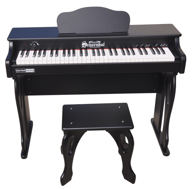 Schoenhut My First Piano Tutor 61-Key Black