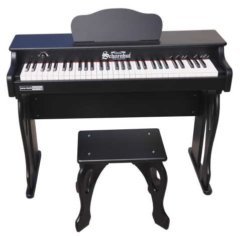 Schoenhut 30 Key Digital Baby Grand Piano Black
