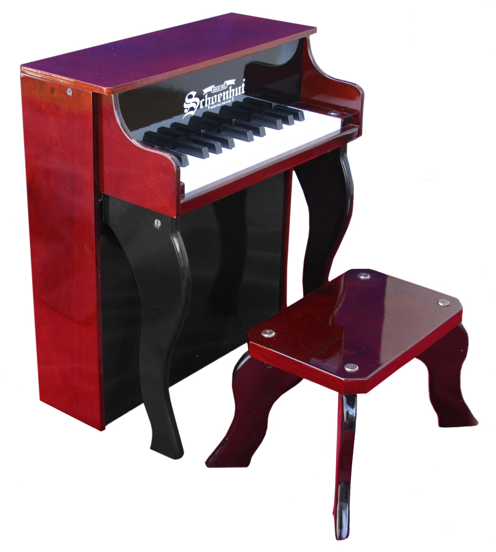 Schoenhut Elite Spinet Piano 25-Key Mahogany/Black