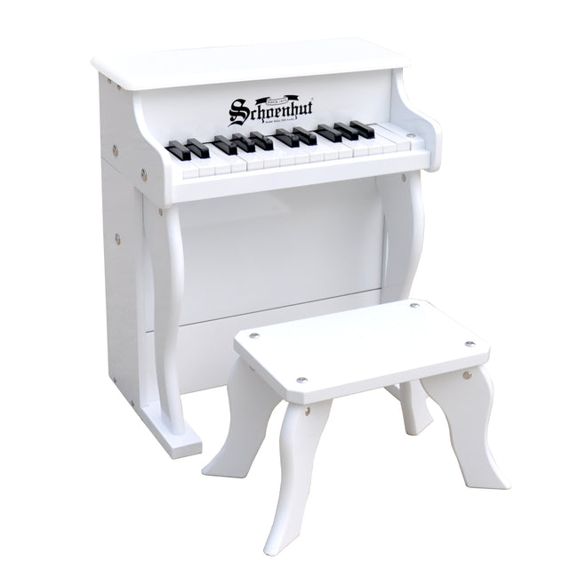 Schoenhut Elite Spinet Piano 25-Key White