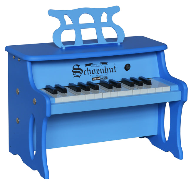 Schoenhut Table Top Piano 25-Key 2 Tone Blue