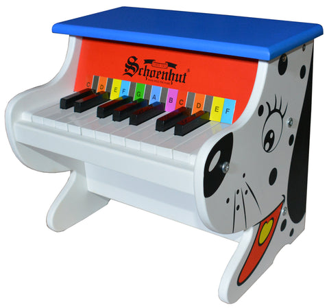 Schoenhut Electronic Butterfly Piano 37-Key Red/Black