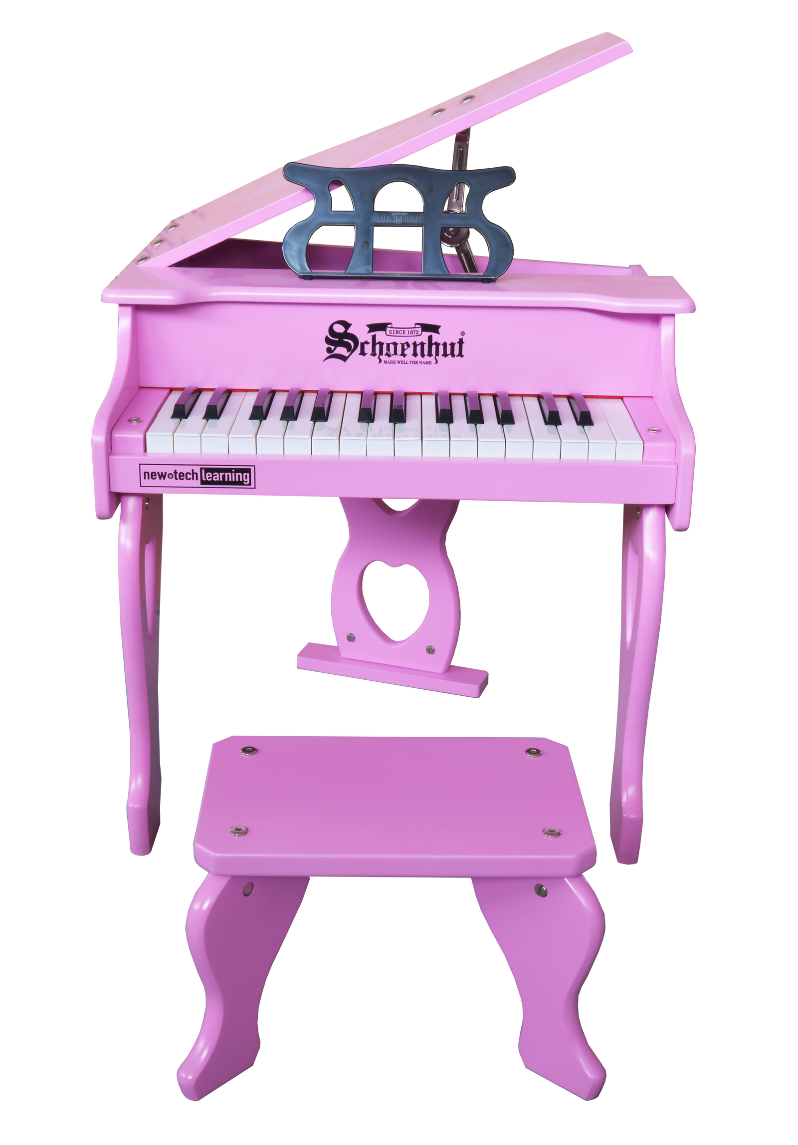 Schoenhut 30 Key Digital Baby Grand Piano Pink
