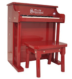 Schoenhut Traditional Spinet Piano 25-Key Red