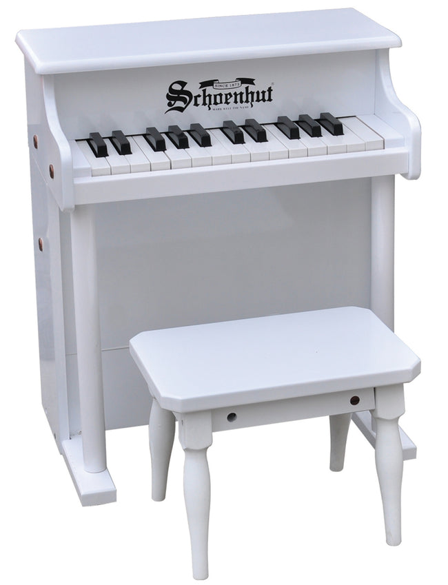 Schoenhut Traditional Spinet Piano 25-Key White