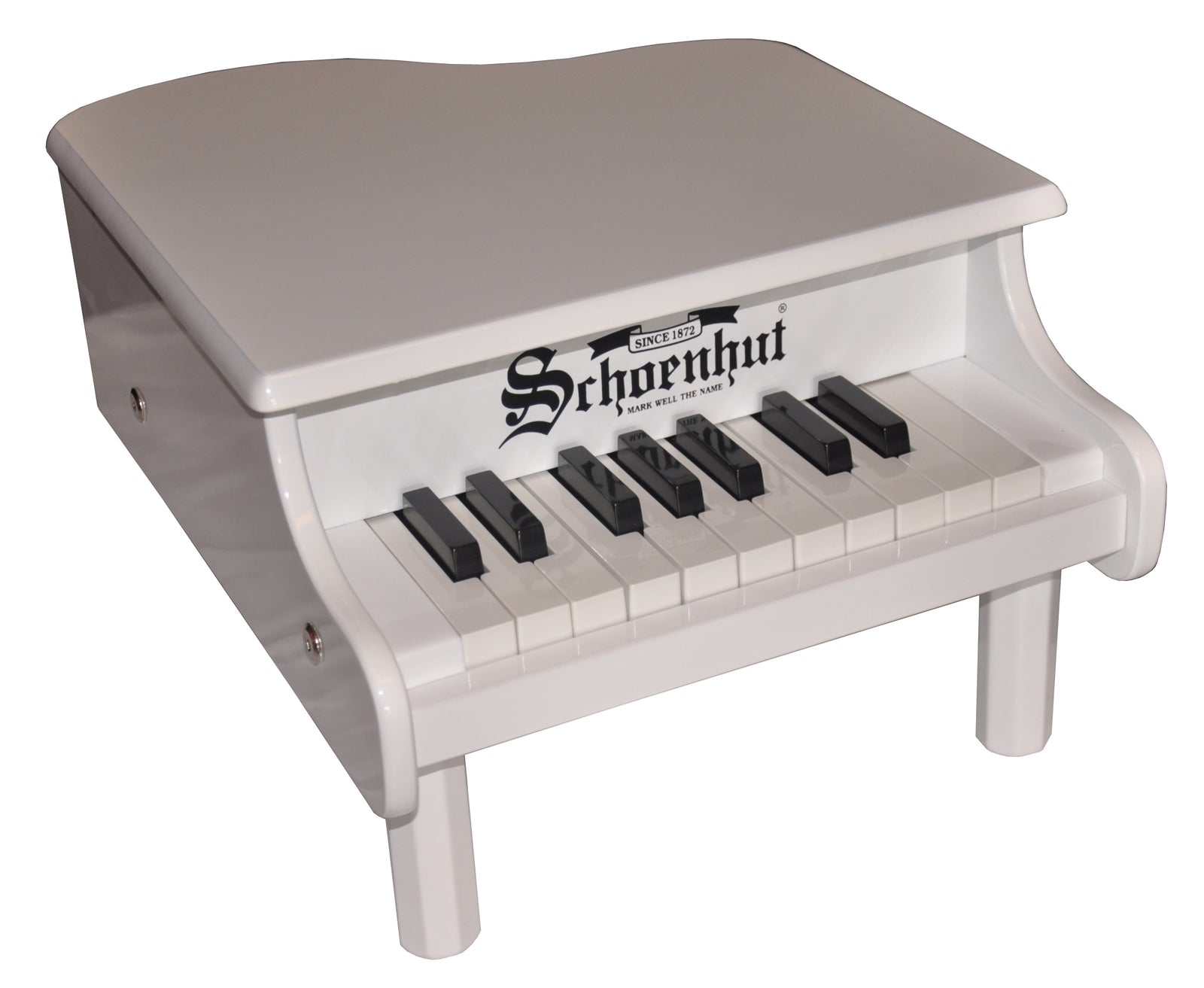 Schoenhut Mini Grand Piano 18-Key White