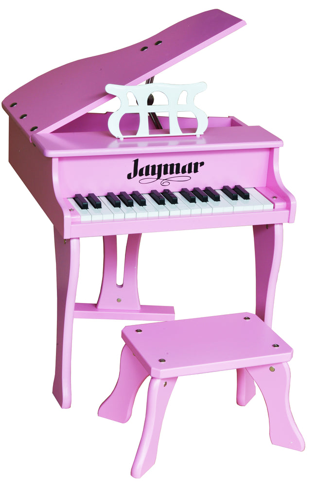 Jaymar 30 Key Fancy Baby Grand Piano Pink