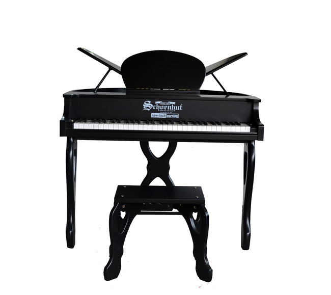 Schoenhut Digital Butterfly Piano 61-Key Black