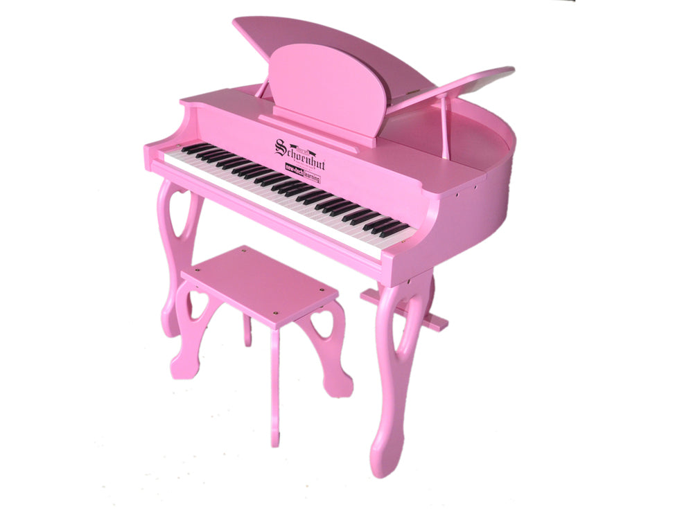 Schoenhut Digital Butterfly Piano 61-Key Pink