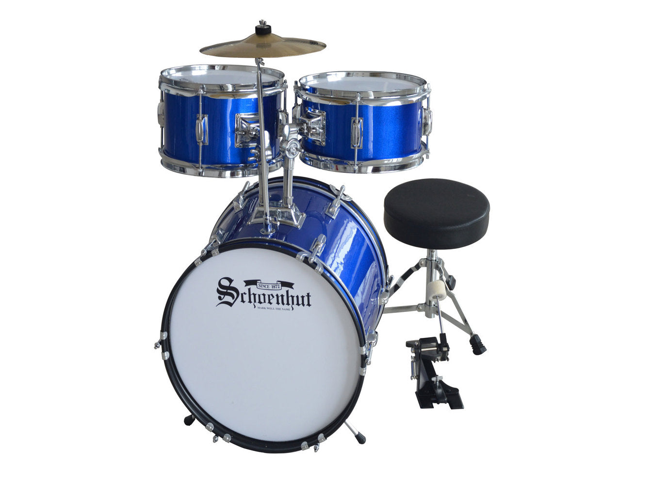 Schoenhut 5-Piece Drum Set Blue