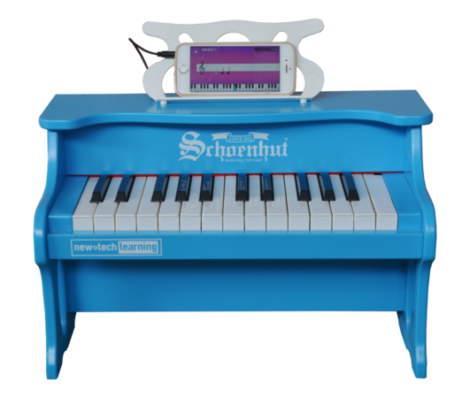 Schoenhut 25 Key Digital Table Top Piano Blue