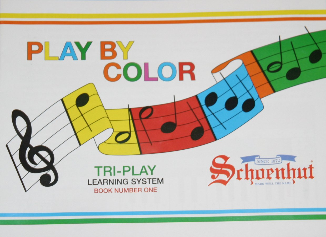 Schoenhut Song Book and Color Strip