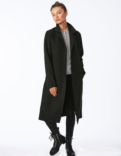 Sweater Wool Coat