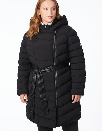 Belted Puffer - Extended Sizes