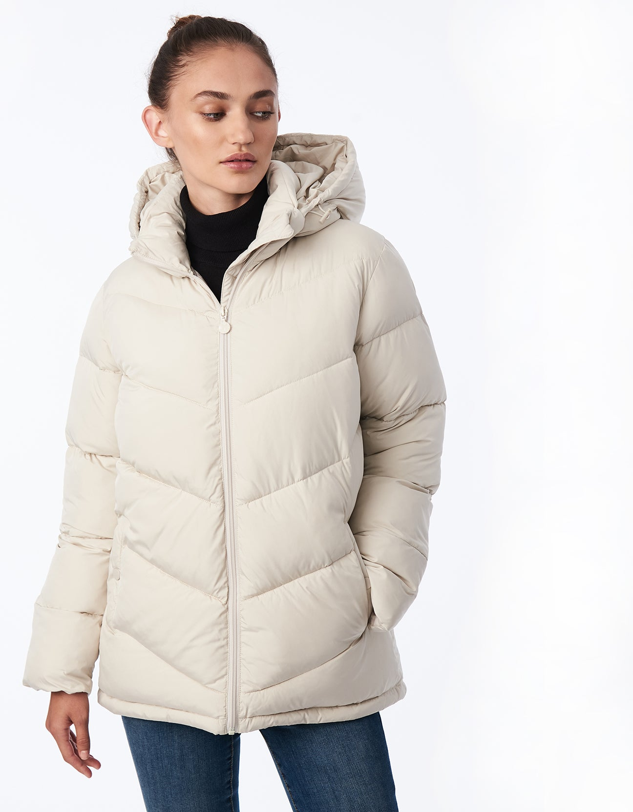 Bernardo Love Full Circle Puffer - Recycled Microtouch
