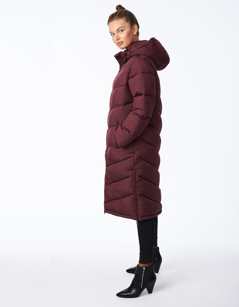 Bernardo Love Full Circle Long Puffer - Recycled Microtouch