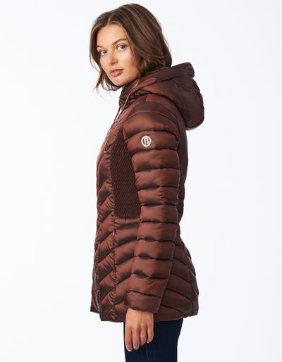 Ecoplume™ Hooded Packable Jacket