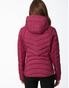 EcoPlume™ Soft Touch Slim Fitted Packable Jacket with Removable Bib
