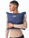 Ecoplume™ Packable Walker with Knit Collar