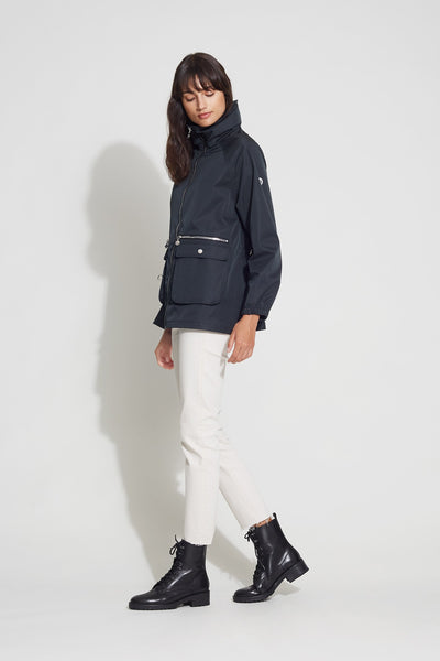 Hooded Utility Raincoat - Bernardo Fashions