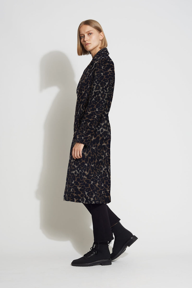 Wool Coat - Bernardo Fashions