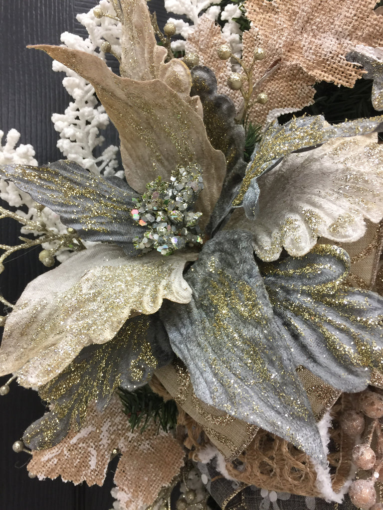 Rustic Elegant Christmas Wreath - Southern Home Accents
