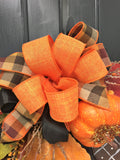 "18"" Fall Acron/Pumpkin Wreath"