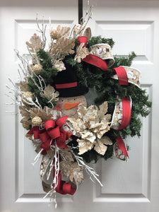 Winter Holiday Wreath