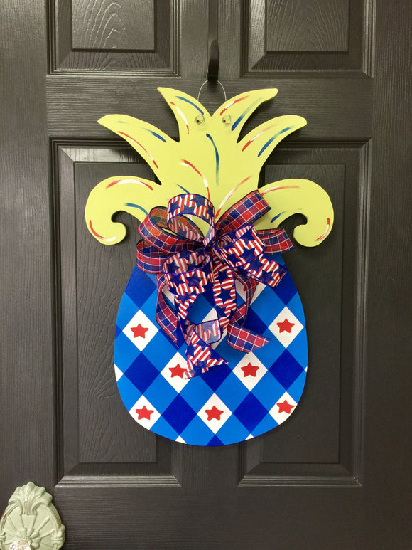 Patriotic Pineapple Workshop 6/27/19