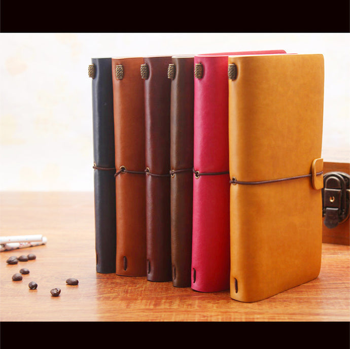 Simply Beautiful Leather-Bound Travel Journal - FREE SHIPPING!