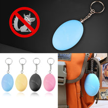 EGGressor Safety Alarm Keychain