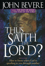 Thus Saith the Lord?