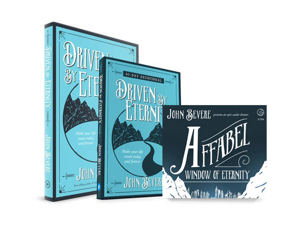 Driven by Eternity + 40-Day Devotional + Affabel