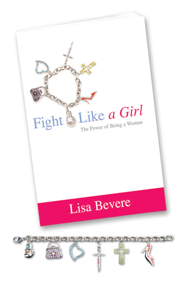 Fight Like a Girl Book + Bracelet
