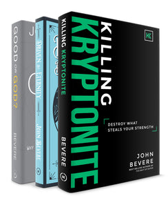Killing Kryptonite +  Driven By Eternity + Good or God? Books