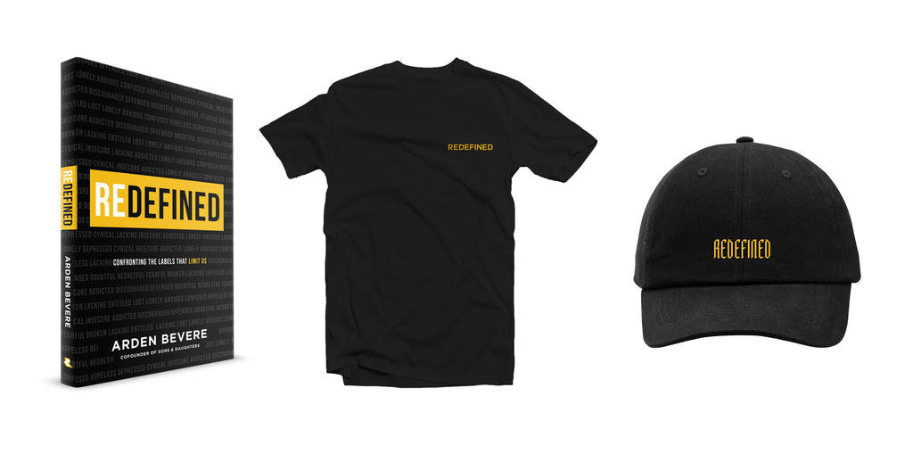 Redefined Book + T-shirt + Hat