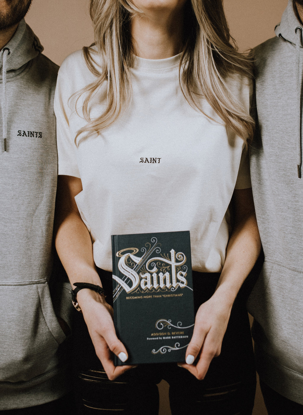 Saints Book and T-shirt