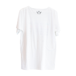 White RISE Above T-shirt