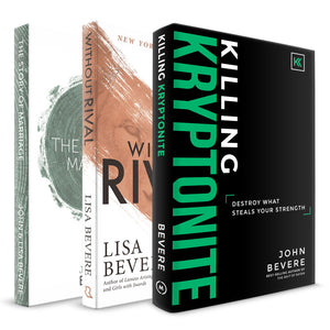 Killing Kryptonite + Without Rival + The Story of Marriage Books
