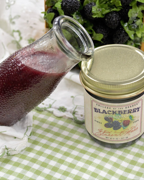 Blackberry Balsamic Vinaigrette Glaze