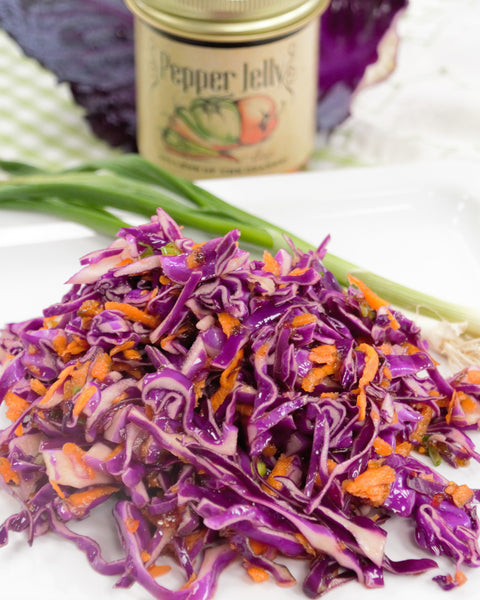 Pepper Jelly Coleslaw
