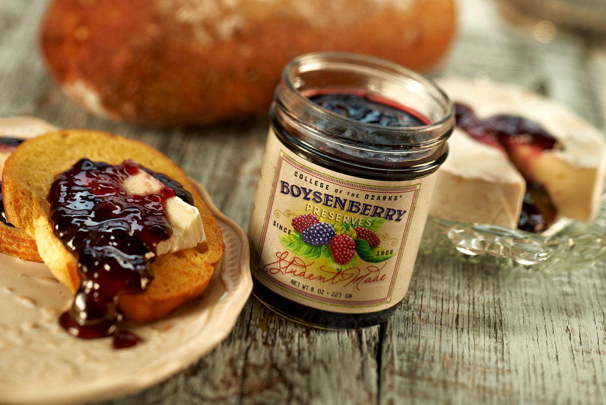 Homemade CofO Boysenberry Jam