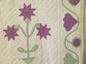 Purple Carolina Lily Quilt