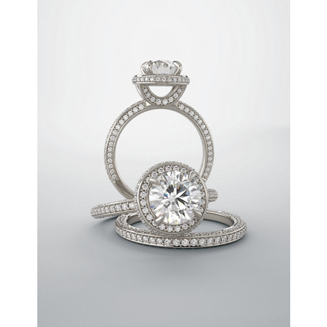 ROWEN, Round Brilliant Engagement Ring