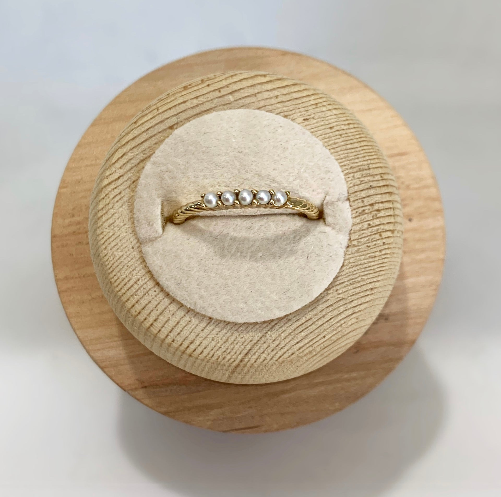 Katherine Pearl Stackable Ring