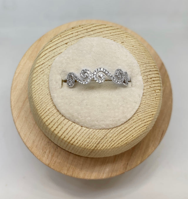 Charlotte Diamond Stackable Ring