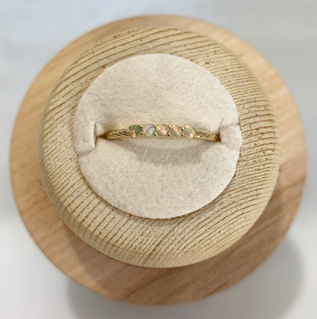 Erin Opal Stackable Ring